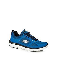 Skechers - Blue 'Flex Advantage 2.0' trainers