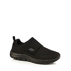 Skechers - Black 'Flex Advantage 2.0' strap trainers