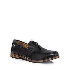 Ben Sherman - Black leather 'Stratford' loafers