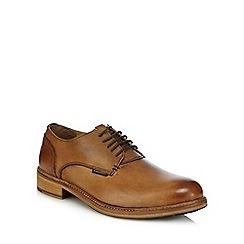 Ben Sherman - Tan leather Derby shoes