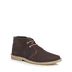 Ben Sherman - Brown suede 'Mocam' chukka boots