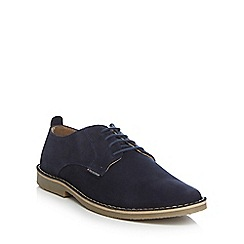 Ben Sherman - Navy suede lace up shoes
