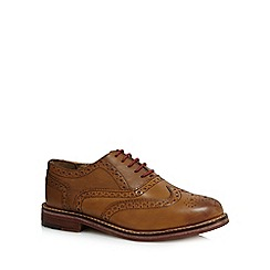 Ben Sherman - Tan leather brogues