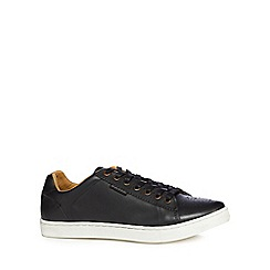Ben Sherman - Black leather trainers