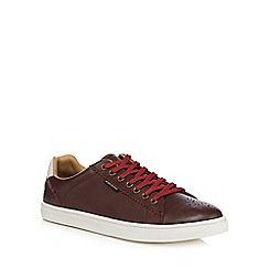 Ben Sherman - Brown leather trainers