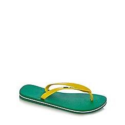 Ipanema - Green flip flops