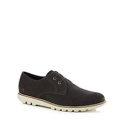 Kickers - Grey suede 'Kymbo Lu' lace up shoes