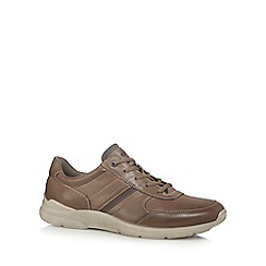 ECCO - Taupe 'Irving' trainers