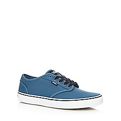 Vans - Blue 'Atwood' canvas trainers