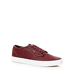 Vans - Dark red 'Atwood' trainers