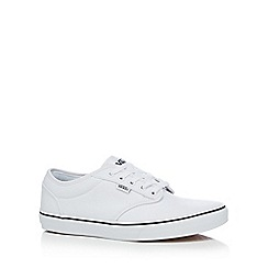 Vans - White 'Atwood' trainers