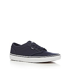 Vans - Navy canvas 'Atwood' trainers