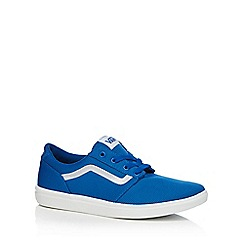 Vans - Light turquoise suede blend 'Chapman' trainers