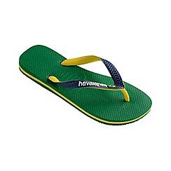 Havaianas - Green Brasil mix flip flops
