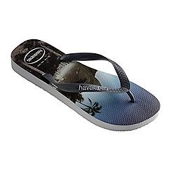 Havaianas - Grey hype flip flops