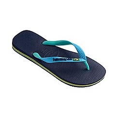 Havaianas - Blue Brasil mix flip flops