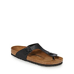 Birkenstock - Black 'Gizeh' sandals