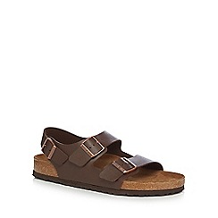 Birkenstock - Brown 'Milano' sandals