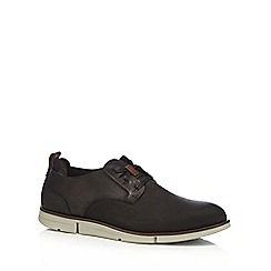 Clarks - Black 'Trigen Lace' lace up shoes