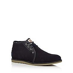 Original Penguin - Navy suede chukka boots