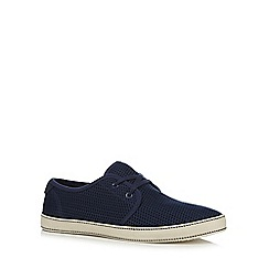 Original Penguin - Navy 'Epic' slip-on shoes