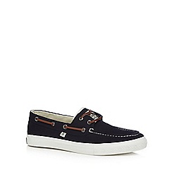 Original Penguin - Navy boat shoes