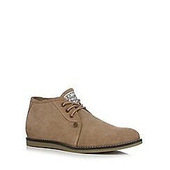 Original Penguin - Taupe 'Legal' Chukka boots