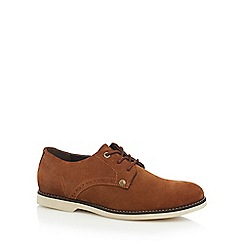 Original Penguin - Brown suede Derby shoes