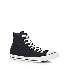 Converse - Black embroidered 'All Star