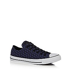 Converse - Navy 'All Star Hex' trainers
