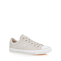 Converse - Off white canvas 'Star Player' shoes