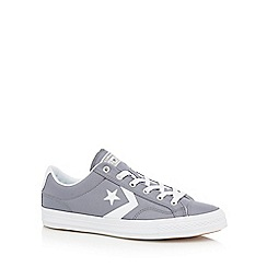 Converse - Grey 'Star Player' trainers