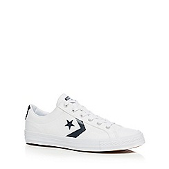 Converse - White 'Star Player' trainers