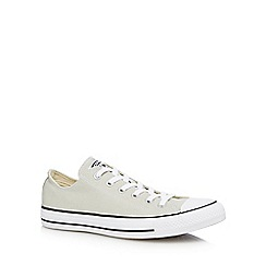 Converse - Silver 'Chuck Taylor All Star' trainers