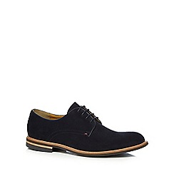 Steptronic - Blue suede 'Victor' Derby shoes