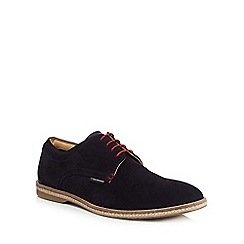 Ben Sherman - Navy suede 'Jude' lace up shoes