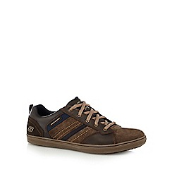 Skechers - Brown suede 'Sorino Evolve' trainers