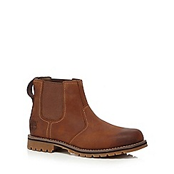 Timberland - Brown 'Larchmont' Chelsea boots
