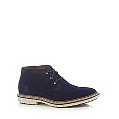Timberland - Blue suede 'Naples' Chukka boots