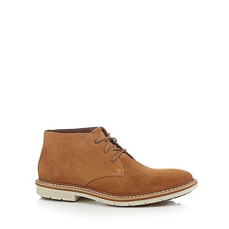 Timberland - Brown suede +Naples+ Chukka boots