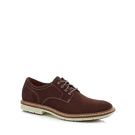 Timberland - Brown suede +Naples+ Derby shoes