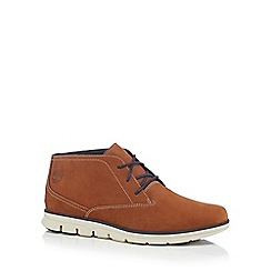 Timberland - Brown leather 'Bradstreet' Chukka boots