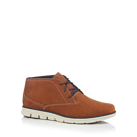 Timberland - Brown leather +Bradstreet+ Chukka boots
