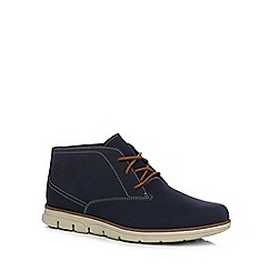 Timberland - Navy leather 'Bradstreet' boots