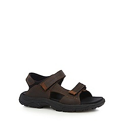 Timberland - Brown crawley walking sandals