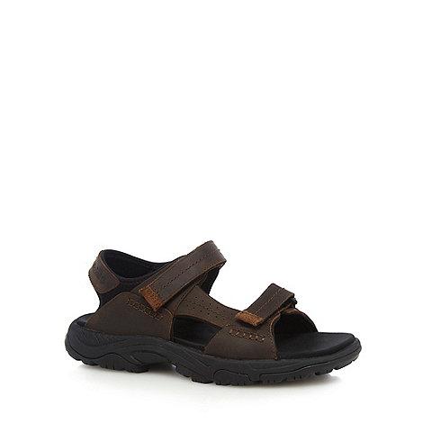 Timberland - Brown crawley walking sandals