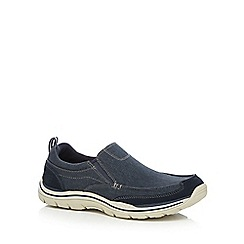 Skechers - Navy 'Expected Tomen' trainers