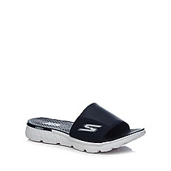 Skechers - Navy 'SK On The Go' cooler sandals