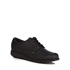 Kickers - Black 'Kick Lo' lace up shoes