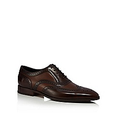 Loake - Brown leather 'Baskerville' brogues